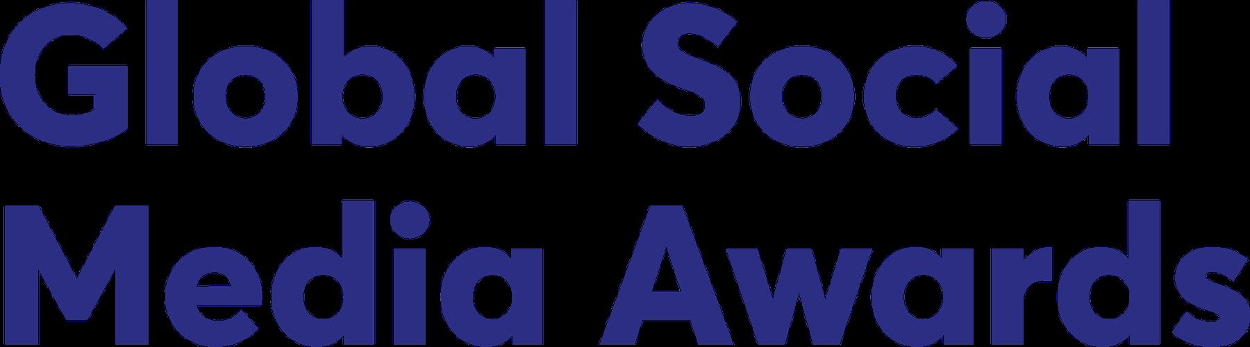 Global Social Media Awards logo